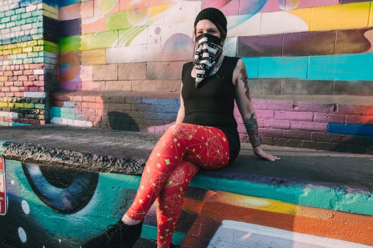 underground bass, bass music, leggings, dancer